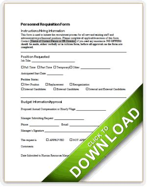staffing request form template personnel requisition form sle pictures to pin on