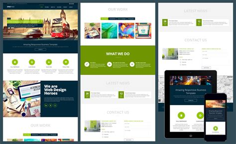 free responsive templates 12 free responsive business website templates