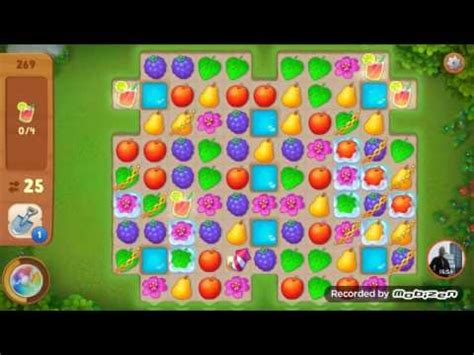 Gardenscapes Cheats Level 57 Trick Gardenscapes Level 269