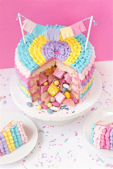best 25 pinata cake ideas on easy birthday
