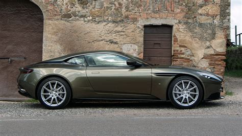green aston martin db11 aston martin db11 v8 debut is less than a month away update