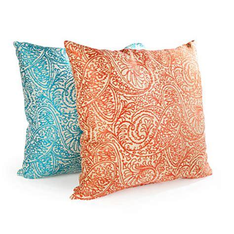 big lots sofa pillows turquoise paisley decorative throw pillow big lots