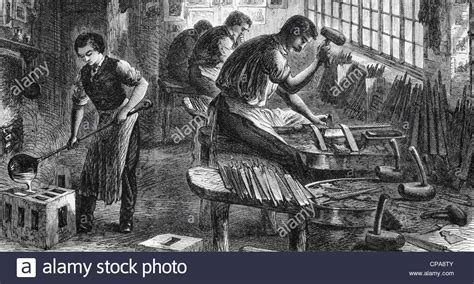 steel mill workers stock photos steel mill workers stock images alamy sheffield steel industry workers in a file cutting factory in 1866 stock photo 48169659 alamy