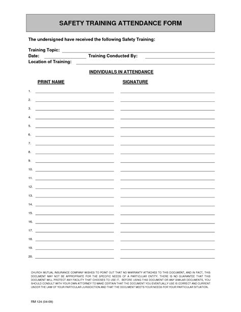 9 attendance sign in sheet templates free sample example format
