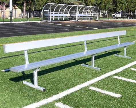 aluminum sport benches aluminum sport benches athletic field equipment 187