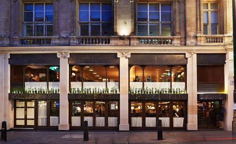 cafe monico restaurant review london uk wallpaper