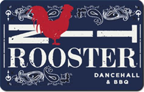 Turning Stone Gift Card - tin rooster gift card