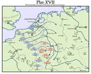 Plan 17 World War One Plan Xvii