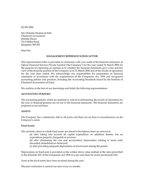 Management Letter Template by Change Of Management Letter Sle It Resume Cover