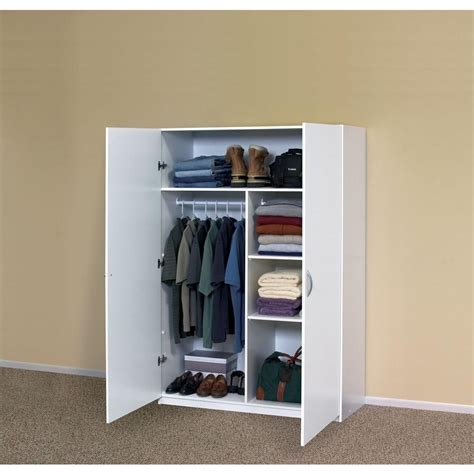 White Storage Closet Wardrobe 20 Best Ideas Of Garage Wardrobe Storage Cabinet