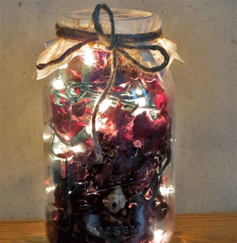 instructions for making a mason jar potpourri warmer how
