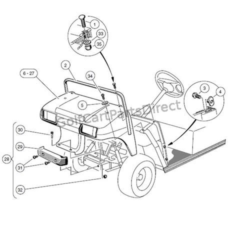 club cart parts diagram used golf cart gas engines for club car used free engine