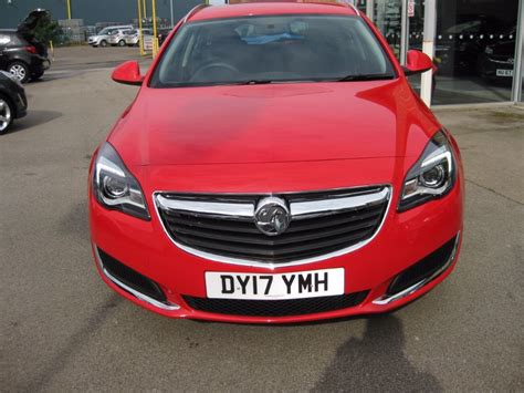 vauxhall red used lava red vauxhall insignia for sale lincolnshire