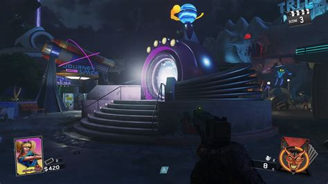 theme park zombie infinite warfare zombies in spaceland how to upgrade