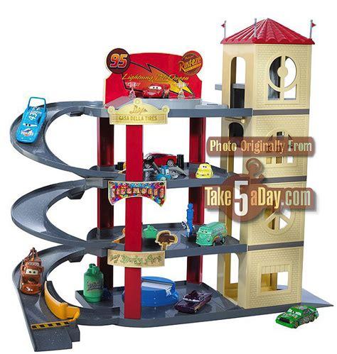 Disney Cars Garage by Mattel Disney Pixar Diecast Cars Ultimate Garage This