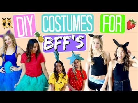 minute diy halloween costumes   friends