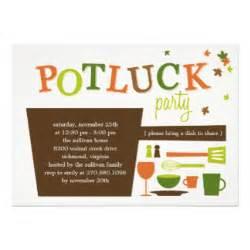 potluck invitations amp announcements zazzle