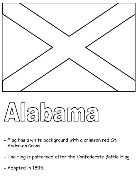 free coloring pages of alabama symbol