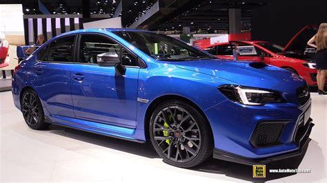subaru wrx custom interior 2018 subaru wrx sti exterior and interior walkaround