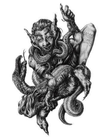 Aim - Aym - Ain - Aini - 72 Espíritos da Goétia - Daemons