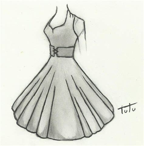 Drawing Dresses by Dress Drawings Drawings Dress Drawing And