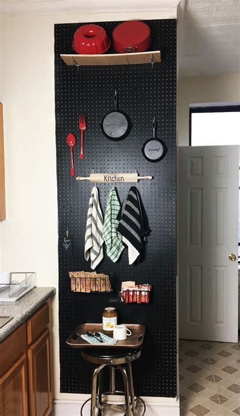 pegboard kitchen ideas 25 great ideas about peg board kitchens on pinterest