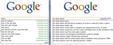 Google Images Questions | google and question answering