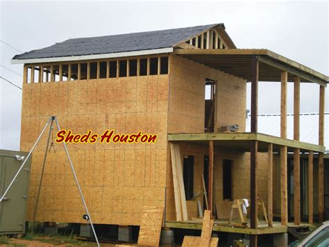 how to build a two story shed photos sheds patios roofing repair barns humble tx