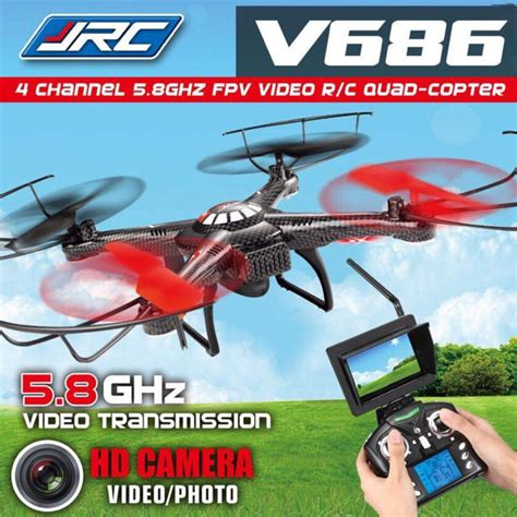Drone V686 new jjrc v686 drone 5 8g fpv headless mode rc quadcopter with hd monitor ebay