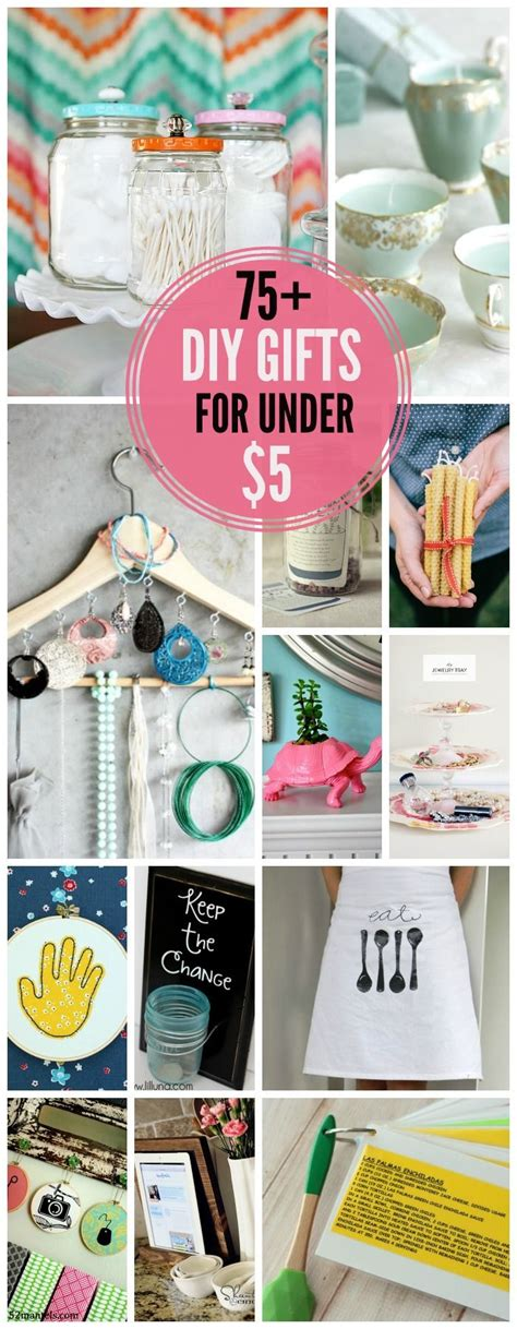 diy craft gift ideas 75 diy gift ideas for 5 like this list a lot of practical easy to do projects