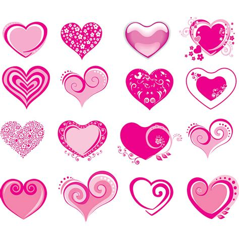 valentines day graphics valentines day hearts vector vector graphics