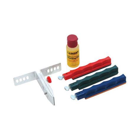 lansky deluxe sharpening system lansky deluxe knife sharpening system