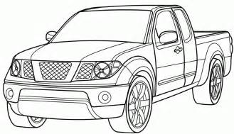 color trucks coloring pages cars and trucks az coloring pages