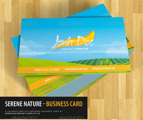 Free Business Card Templates Nature by 47 Nature Business Card Templates Free Premium