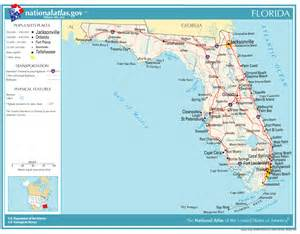 florida landform map visit the florida theme parks