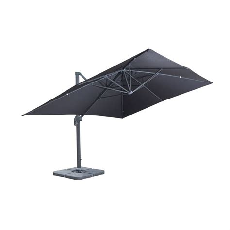 parasol rectangulaire inclinable pas cher parasol rectangulaire inclinable