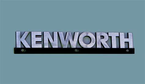 logo kenworth kenworth semi truck logo photograph by nick gray
