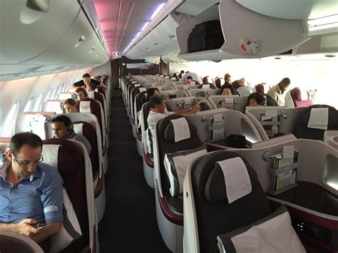 Qatar A380 Cabin by Qatar Airways A380 Business Class Review Tips For Travellers