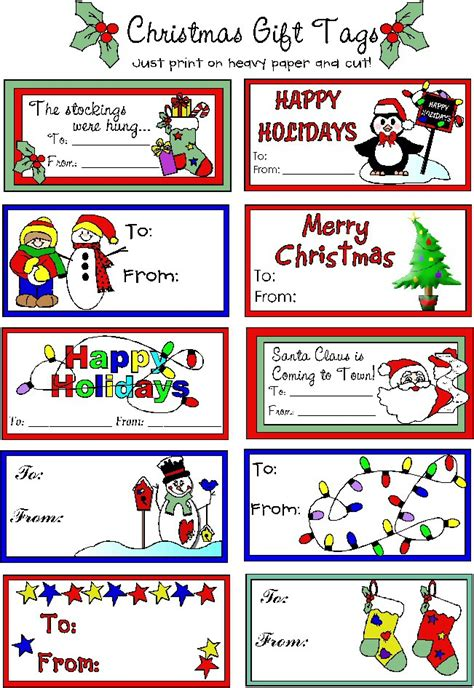 printable tags online christmas gift tags printable free
