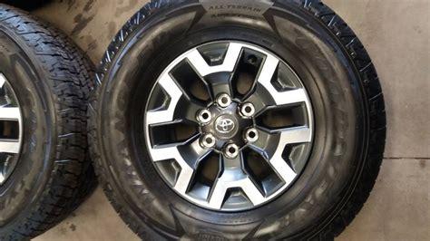 Toyota Tires Toyota Tacoma Trd Road Wheels Tires Wheels