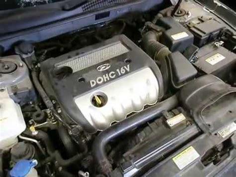 small engine maintenance and repair 2003 hyundai sonata parental controls wrecking 2006 hyundai sonata engine 2 4 j14632 youtube
