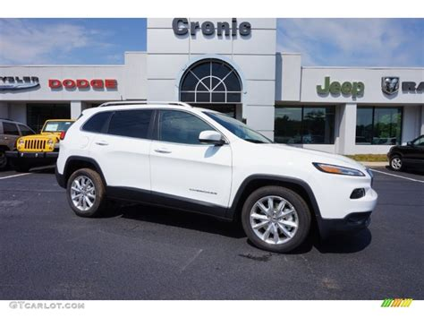 white jeep 2016 2016 bright white jeep limited 106363181