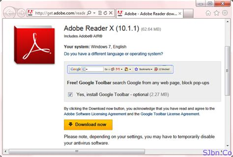 adobe reader x 10 1 1 free download full version screenshot of adobe reader download page from different