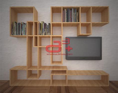 imagenes libreros minimalistas foto librero para sala de tv de a3 62914 habitissimo