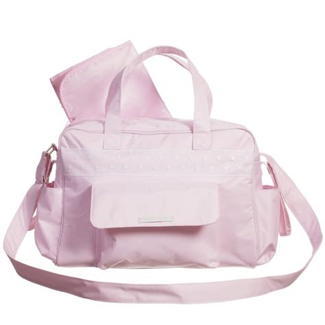 baby diaper bags boys girls babiesrus pasito a pasito pink baby changing bag with mat 38cm