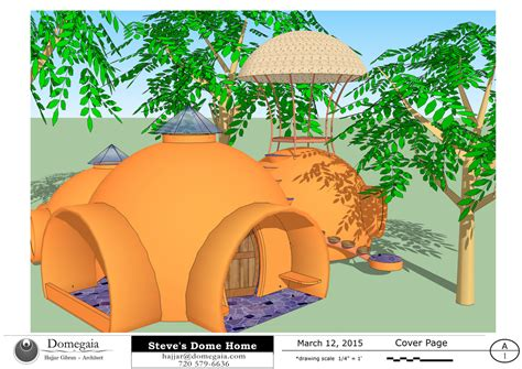 Amazing Dome Homes out of Aircrete