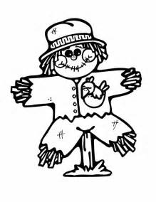Decorative Letters For Home Free Standing thanksgiving scarecrow coloring pages pumpkin face scarecrow