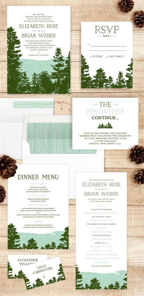 outdoor themed wedding invitations sunshinebizsolutions