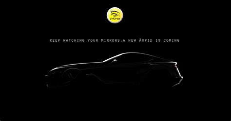 teaser car spain s aspid teases new sports car