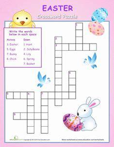 printable easter sudoku easter crossword puzzle for kids crossword worksheets